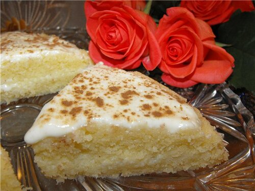 Манник -торт за 15 минут