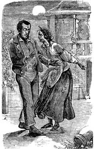 Топчет раба босиком