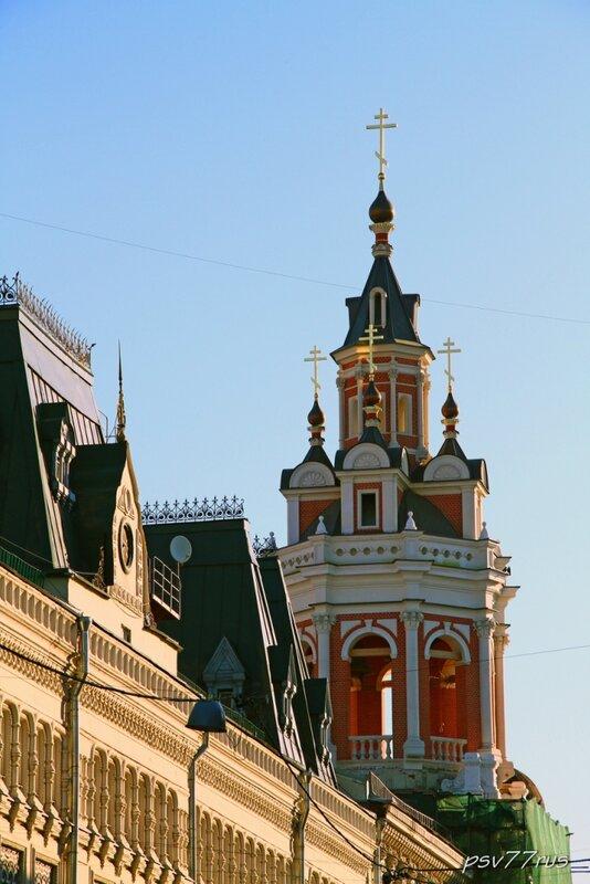 Спасский собор Заиконоспасского монастыря.