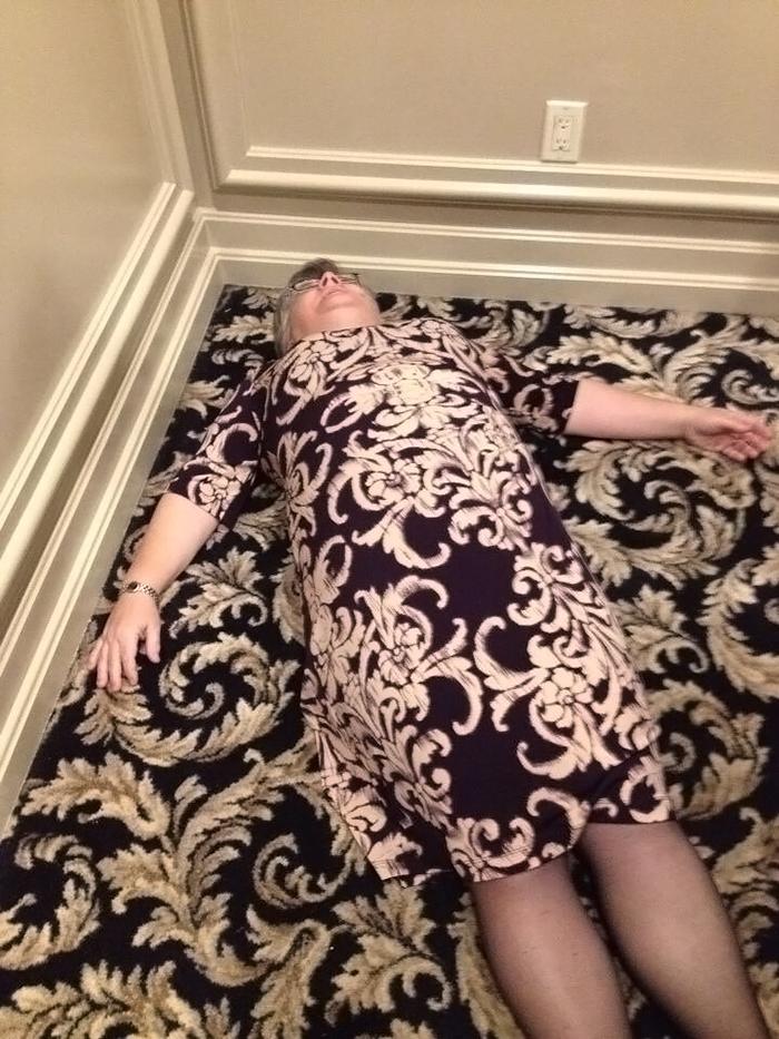 Бабушка или ковер?