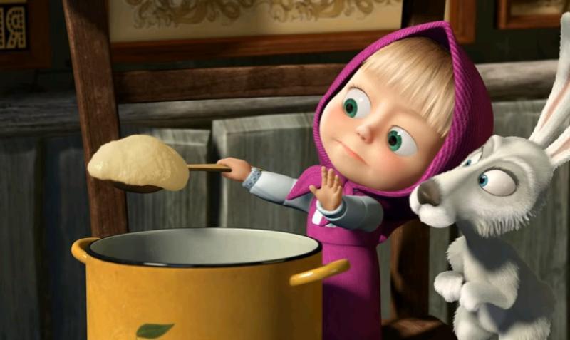 Отрывок мультфильма «Маша иМедведь» набрал неменее 2-х млрд. просмотров наYouTube