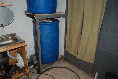 Вода в гараж своими руками 56