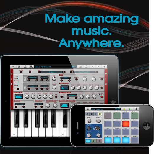 NanoStudio [v1.33, Музыка, iOS 3.1.2, ENG]