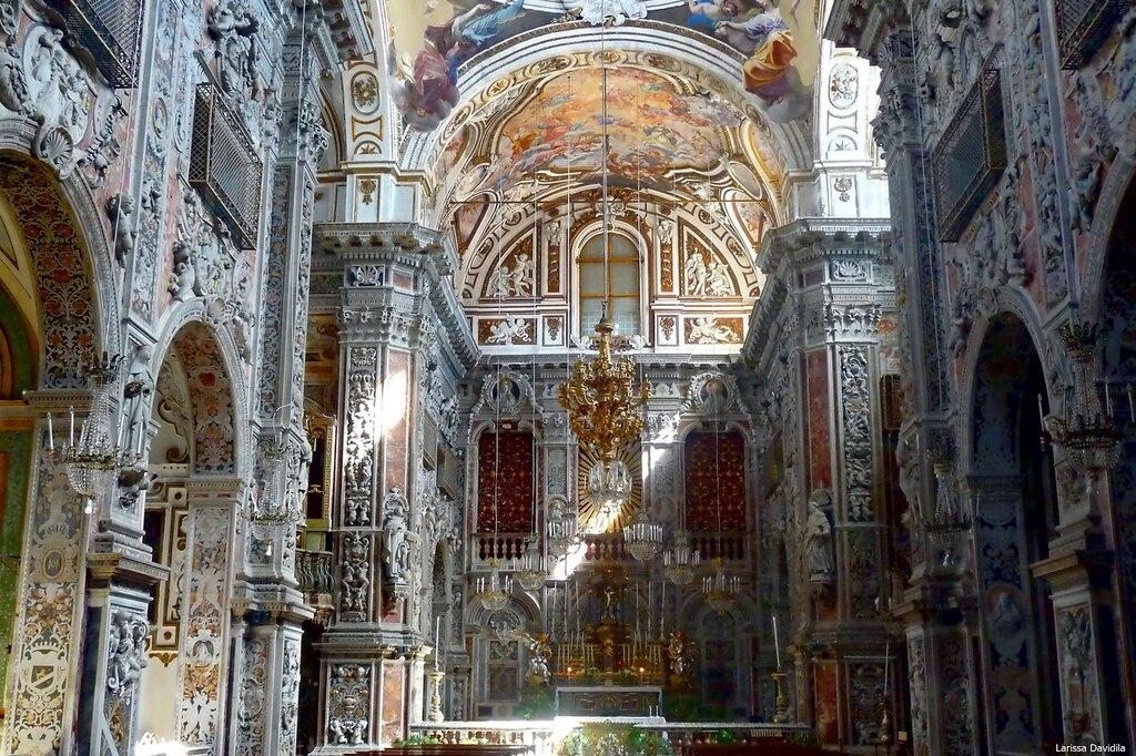 Сицилия палермо церковь св катерины