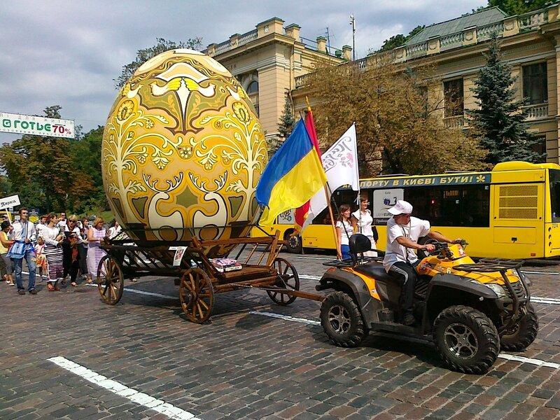 Боярка на Параде вышиванок 2012 в Киеве