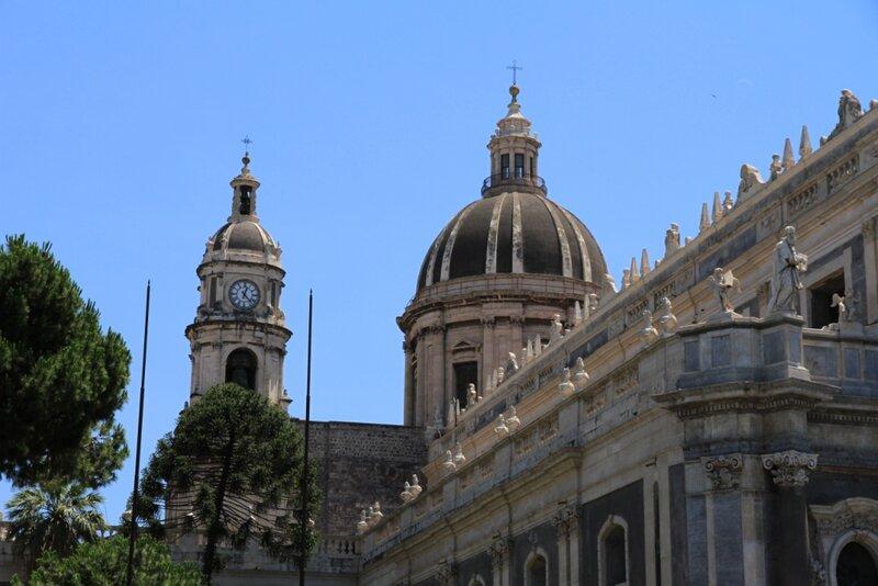 Сицилия, Катания, Площадь Дуомо – Кафедральный Собор