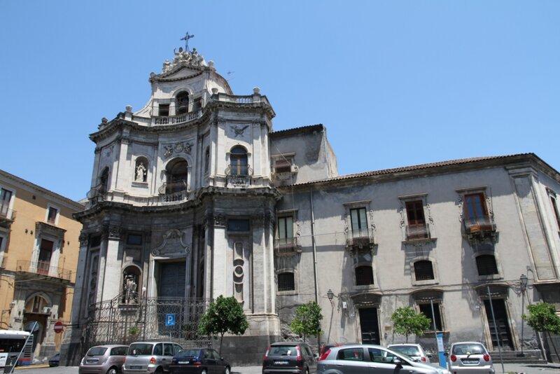 Сицилия, Катания, Церковь Св. Плачидо