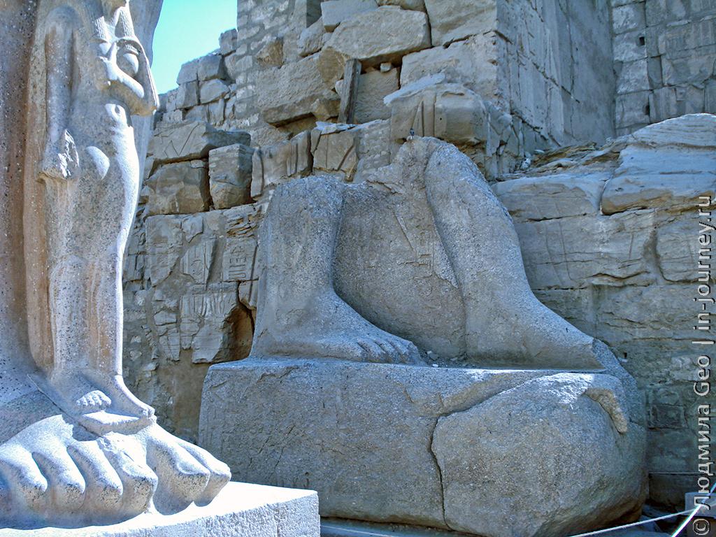 Карнакский храм Египет