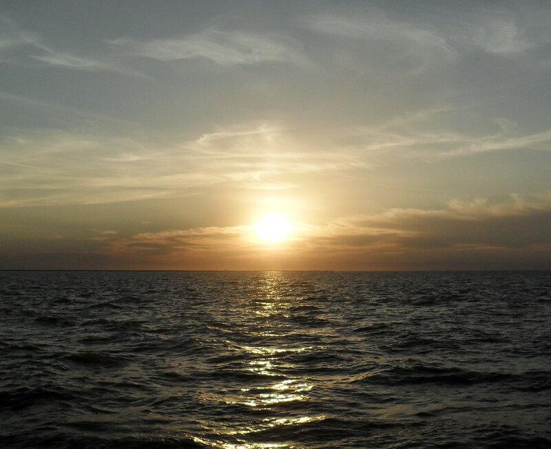 На закате, сентябрь 2012