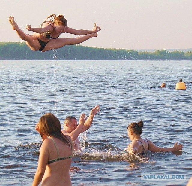 Фотожаба Водные Игры