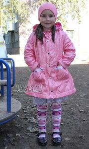 Плащ_плащевка+флис_116см