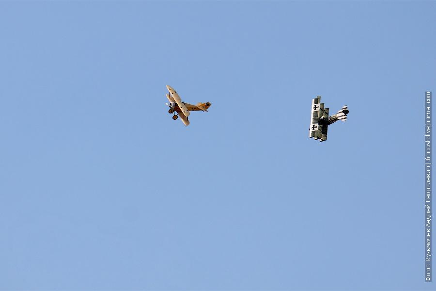 воздушный бой Fokker Dr.I Туммелиса и  100 лет ВВС