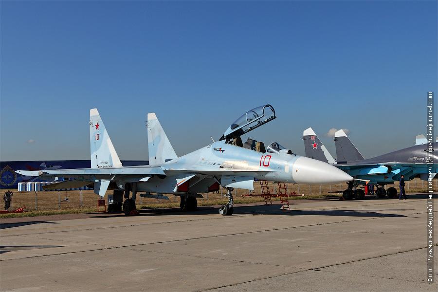 Фронтовой истребитель Су-30М2