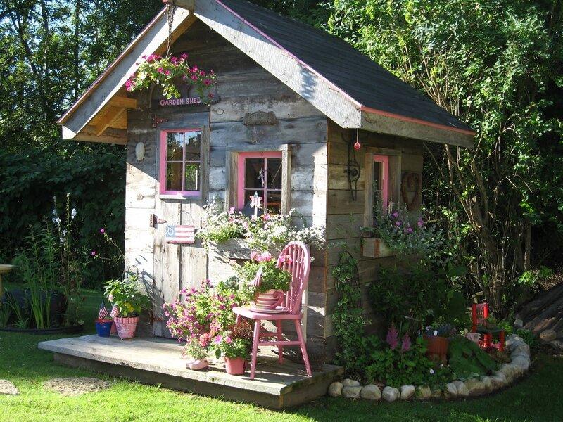 Фото красивых дачных домиков своими руками
