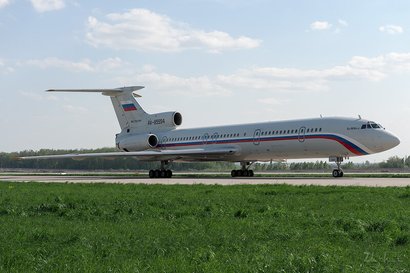Туполев Ту-154Б-2 (RA-85554) ВВС России DSC_0172