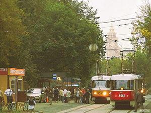 Трамваи Москвы