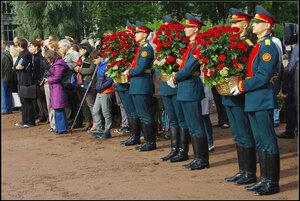Открытие памятника Багратиону в Санкт-Петербурге