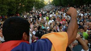 В Ереване истекает ультиматум митингующих