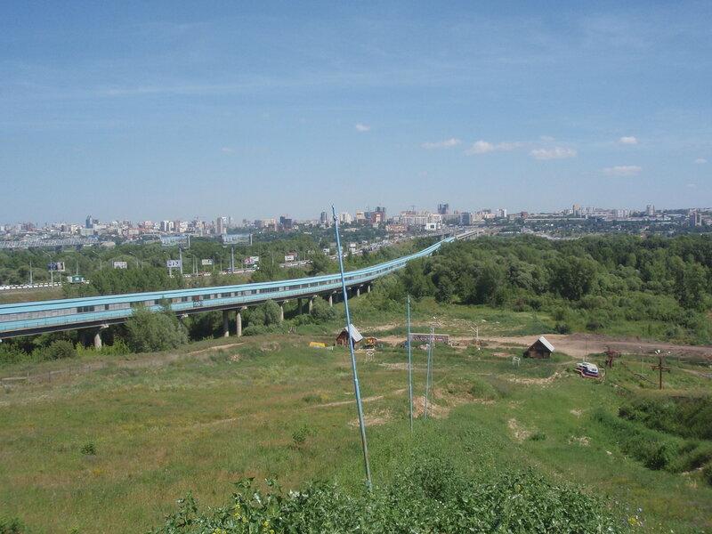 Новосибирский метро-мост
