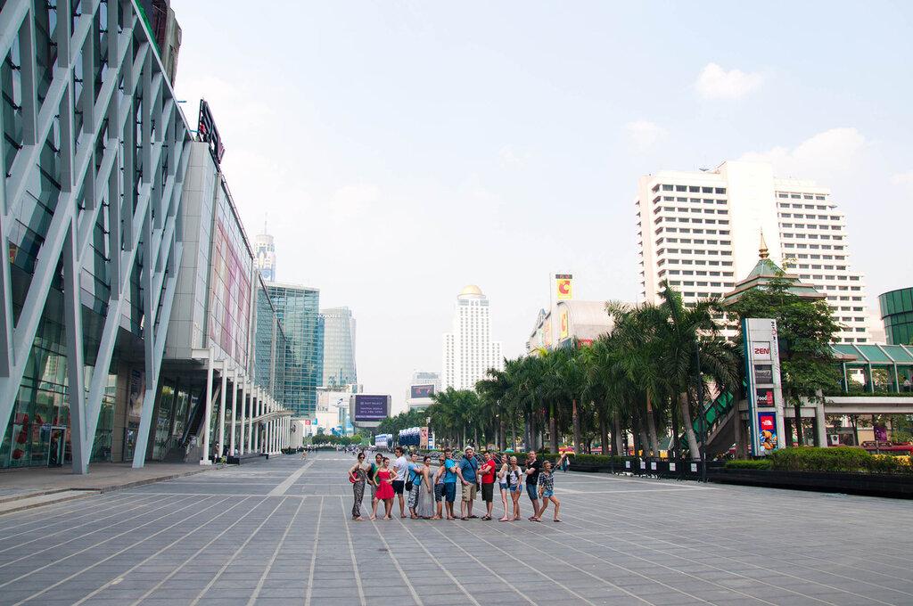 Группа Самарских туристов в Бангкоке, Тайланд