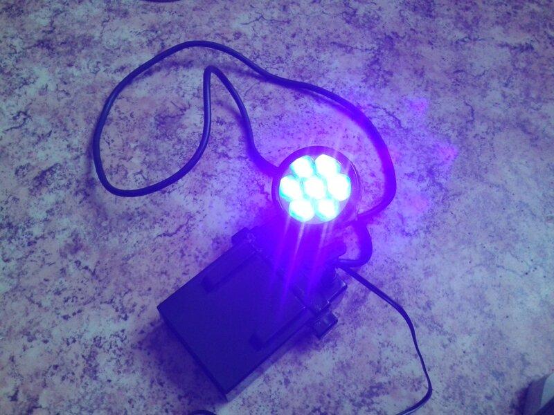 Ультрафиолетовые фонарики своими руками