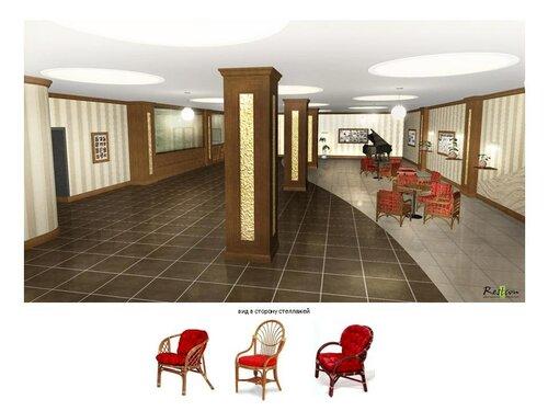 Дизайн холла Центрального телеграфа