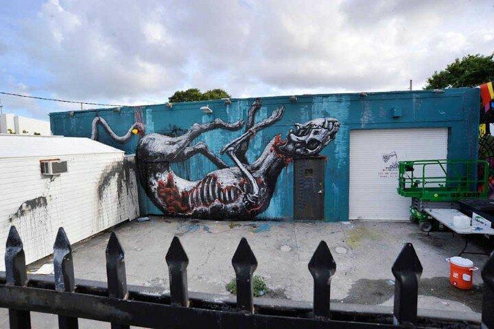 ROA. Уличный художник 22
