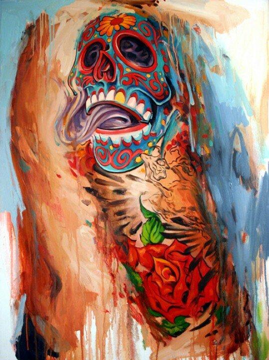 Shawn Barber. Татуированные картины 5