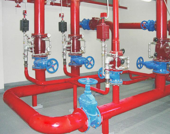 Проектирование, поставка оборудования и монтаж систем автоматического пожаротушения САПт, дымоудаления...