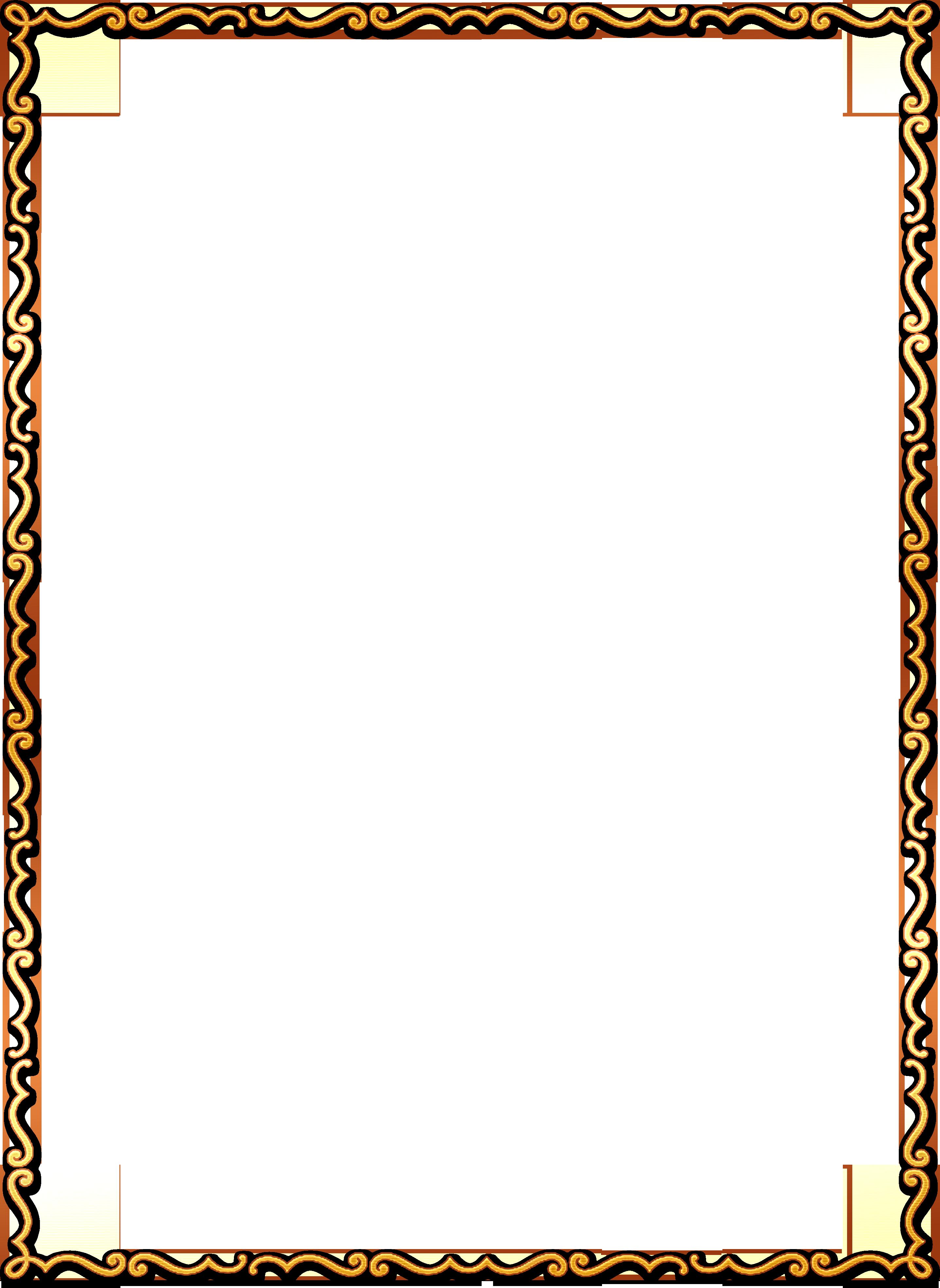 Рамочки на прозрачном фоне
