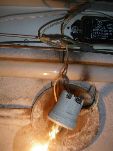 Вызов электрика аварийной службы с целью ремонта точки коммунального освещения парадной