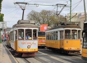 Лиссабон, трамваи. Lisbon  tram, Lisboa bonde