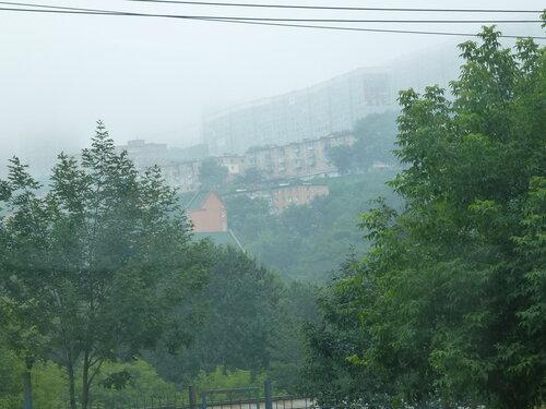 Владивосток в тумане