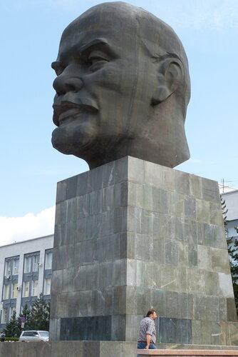 Улан Удэ, голова Ленина