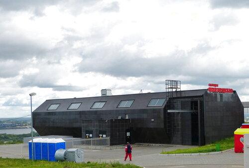 Верхняя станция канатной дроги   Нижнего Новгорода