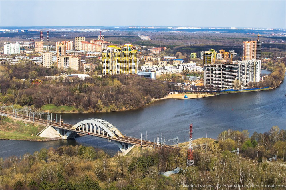 33. Химкинский мост.