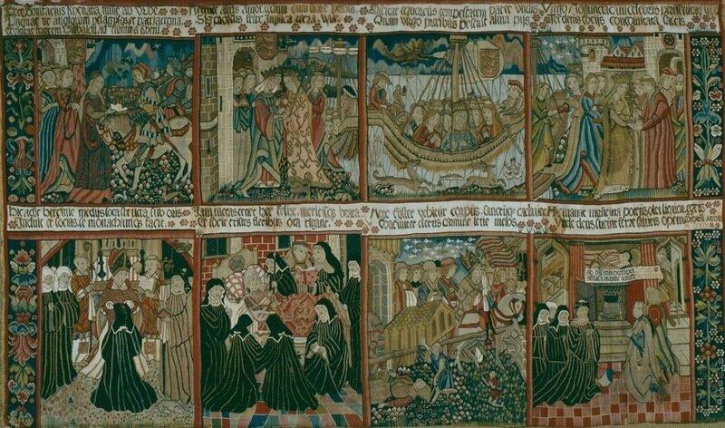 Гобелен. Около 1460-64 гг.
