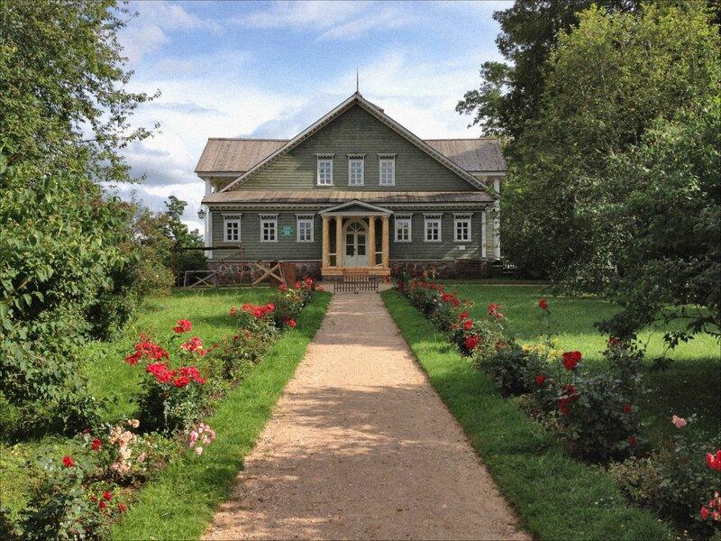 Пушкинские горы петровское дом петра