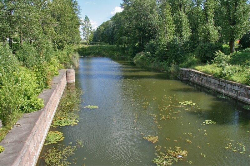 Шлиссельбург, Шлюз Староладожского канала