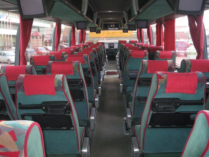 схема нумерации мест в автобусе не…
