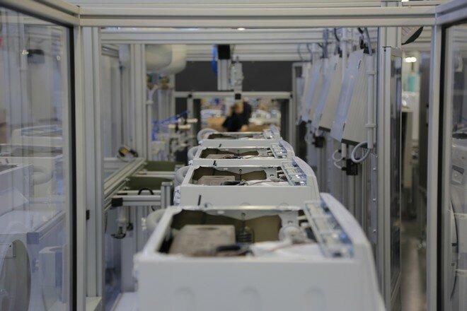 Бытовая техника Bosch. Завод в Стрельне. Стиральные машины