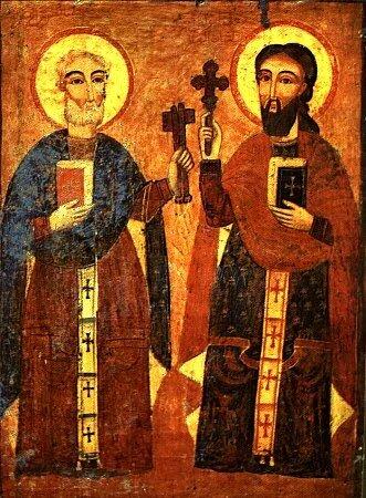 Св. апостолы Пётр и Павел