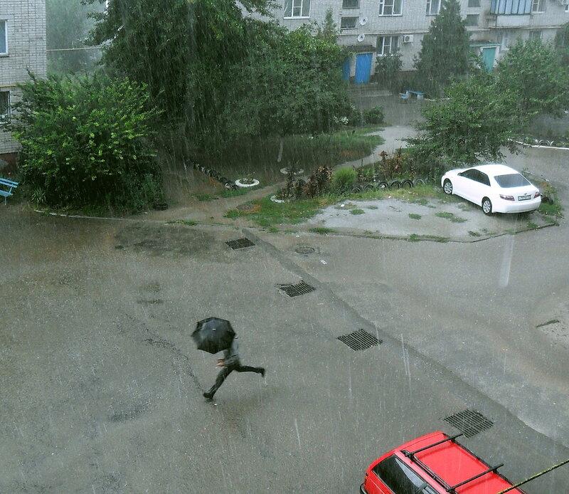 Дождь, август 2012