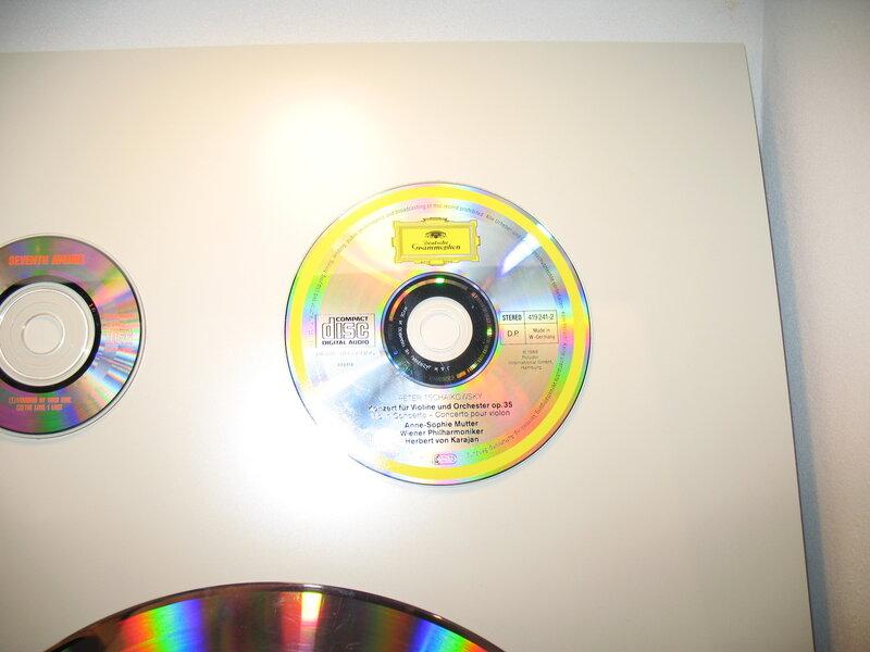 Эволюция звукохранения: компакт-диск.