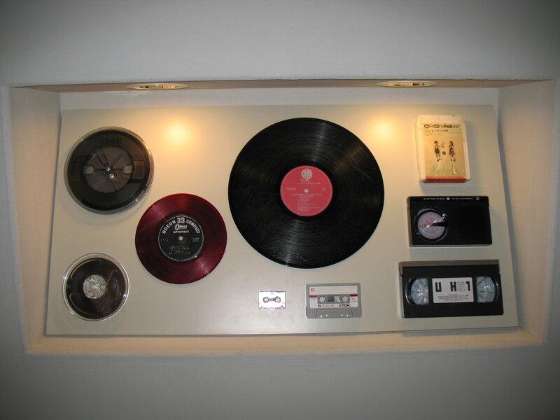 Эволюция звукохранения: виниловые пластинки.