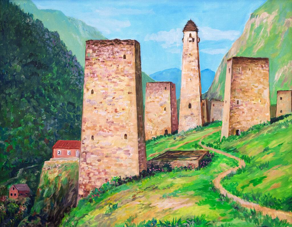 Чеченская башня своими руками