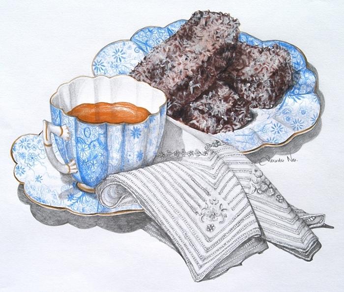 kahve-dekupaj-mendil-kek-dekoratif-boyama