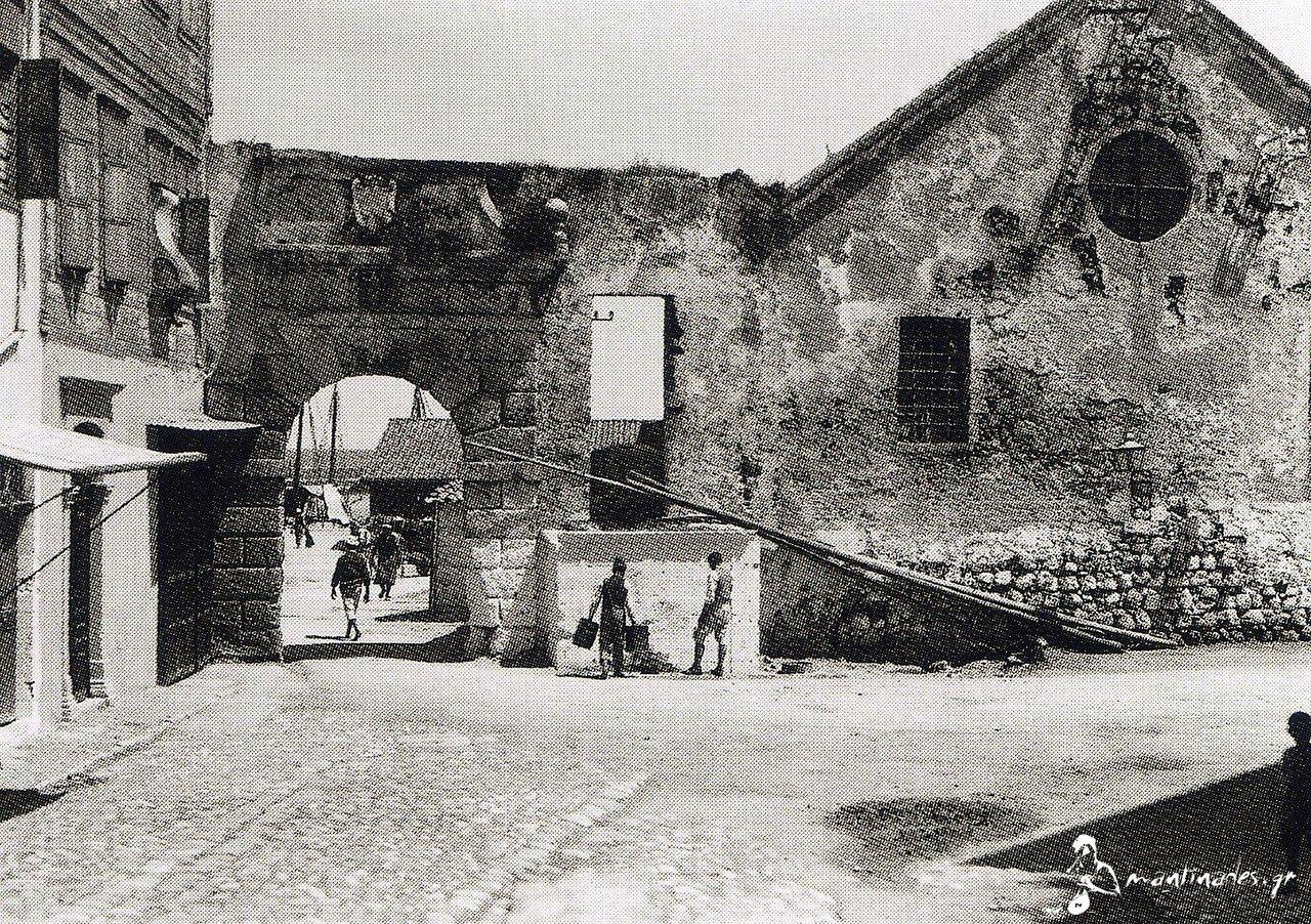 1911. Крит, Ханья.  ворота и верфи Неорио
