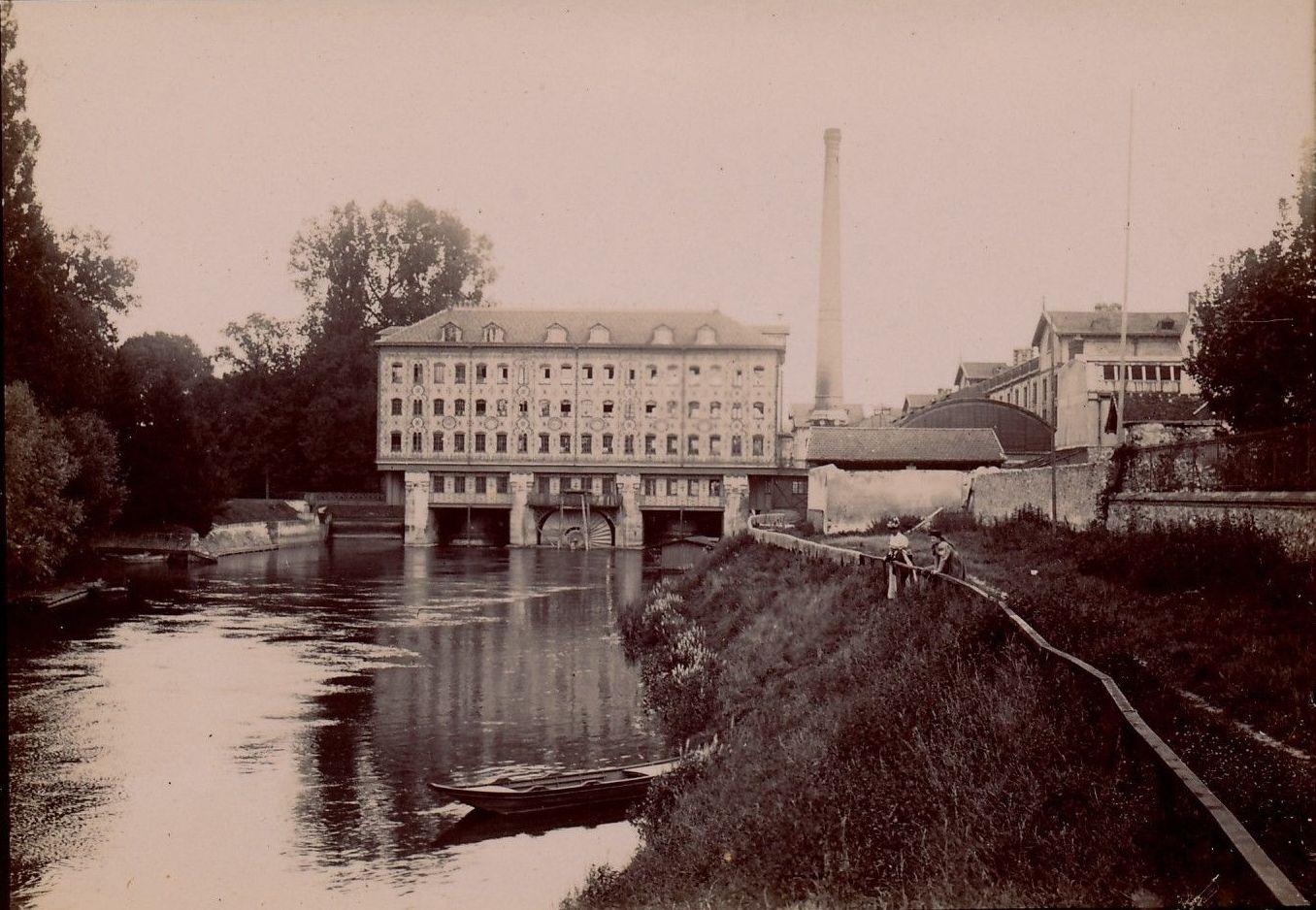 Нуази. Шоколадная фабрика