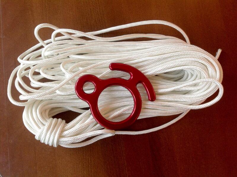Вязание на бельевой веревке 111